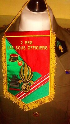French Foreign Legion 2Rei Sous Officiers Pennant • 40£
