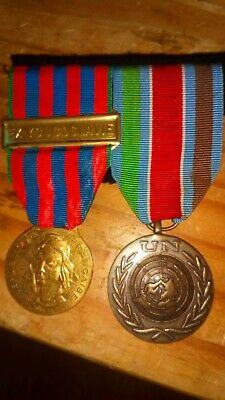French Foreign Legion Ex Yugoslavia Commemoration Medal And United Nations... • 25£