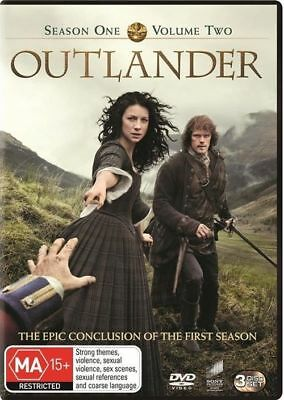 AU16.95 • Buy Outlander: Season 1 - Volume 2 (2015,dvd) New+sealed