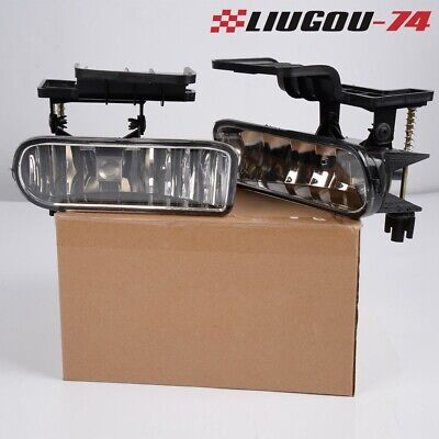 $17.97 • Buy 2X Clear Bumper Fog Lights Driving Lamps For 00-06 Chevy Suburban /Tahoe USA New