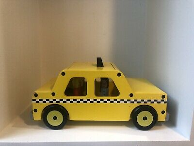 New York Taxi Wooden Toy • 6.50£