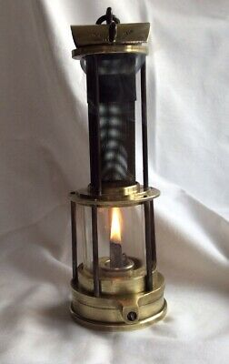 Antique Miners Lamp Gauze Clanny Type Thomas & Williams Ltd Original. Working. • 155£