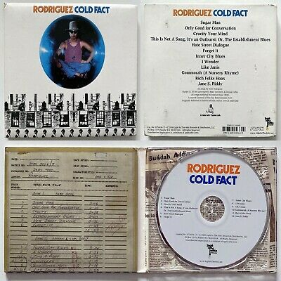 RODRIGUEZ Cold Fact - Light In The Attic Digipak CD Of 1970 Album (2008) • 5.99£