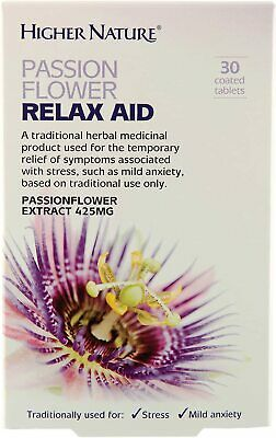 Higher Nature Passionflower Relax Aid • 8.09£