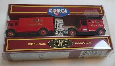 Corgi Cameo Royal Mail Collection 2x Delivery Vehicles • 2.50£