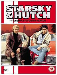 Starsky And Hutch - Series 4 - Complete (DVD, 2006, 5-Disc Set, Box Set) • 2.10£