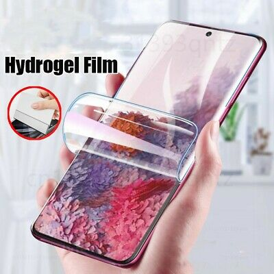 $ CDN1.57 • Buy Hydrogel Film Screen Protector For Samsung Galaxy NOTE 10 9 S20 FE A70 A30S S10E