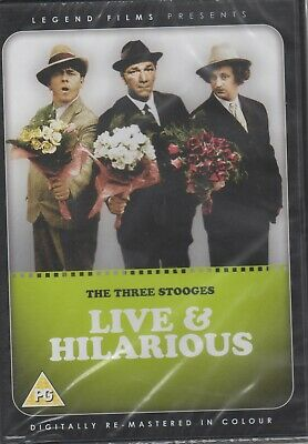 The Three Stooges - Live And Hilarious (DVD, 2009) Cert PG • 3.89£