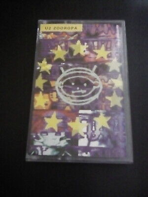 U2 Zooropa Cassette 1993 In Very Good Condition • 4£