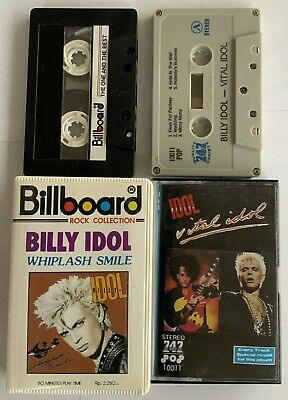 Billy Idol - Indonesian Audio Cassette Tapes • 4.99£