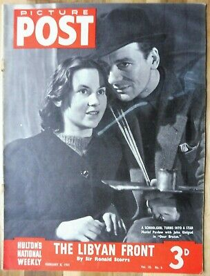 Picture Post Magazine, February 8, 1941, The Libyan Front By Sir Ronald Storrs. • 2.95£