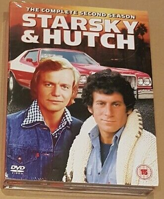 Starsky And Hutch - Series 2 - Complete (DVD, 2004, 5-Disc Set, Box Set) • 0.99£