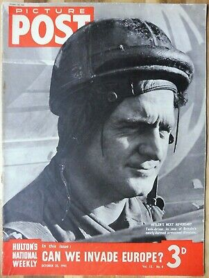 Picture Post Magazine, October 25, 1941, Can We Invade Europe? • 2.95£
