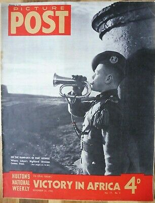 Picture Post Magazine, November 21, 1942, Victory In Africa. • 2.95£