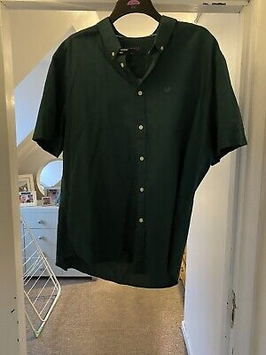 Matalan Lincoln Men's Shirt In Emerald Green, 2XL, Brand New Without Tags • 1.50£