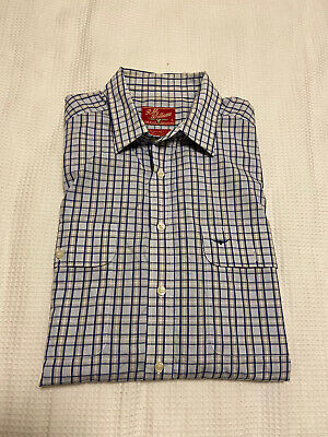 AU22.45 • Buy RM Williams Men's Long Sleeve Regular Fit Check Shirt ~ Size XL