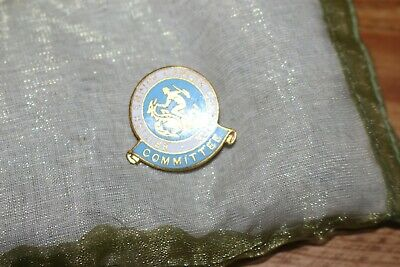 British Empire Cancer Campaign Committee Pin Badge In Blues • 2.99£