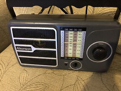 Coopers AITKENSON 4 Band Radio Model 8830 Tested & Working- Portable • 11.99£