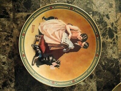 $ CDN5.19 • Buy Norman Rockwell  A Couple's Commitment  Plate