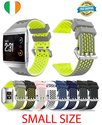 AU14.42 • Buy For Fitbit Ionic Strap Silicone Sport Fitness Replacement Wrist Band Watch SMALL
