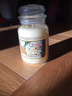 Christmas Cookie Large Jar Yankee Candle • 10£
