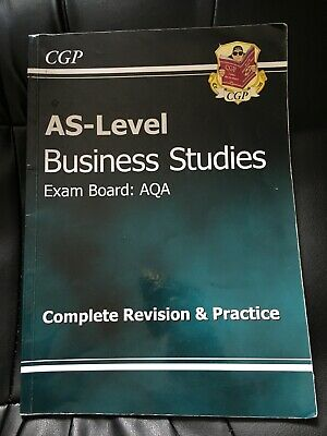 CGP AS-Level Business Studies Exam Board AQA • 1.30£