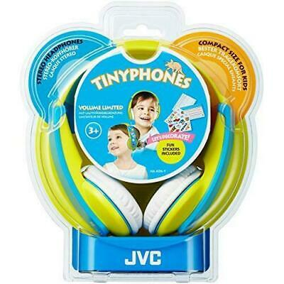 JVC Tiny Phones Kids Stereo Headphones With Volume Limiter - Yellow/Blue • 15.97£