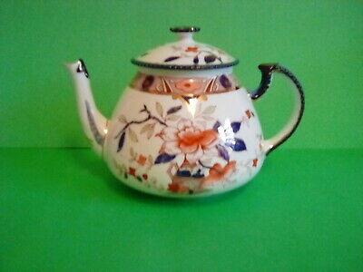 ANTIQUE BURLEIGH WARE 'JAPONICA' TEAPOT By BURGESS & LEIGH - C1900 - RARE • 25£