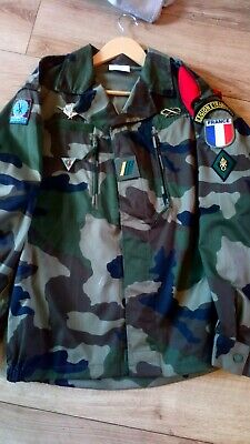 French Foreign Legion 2rep F2 Cce Combat 2nd Company Jacket Size 44/112  • 50£