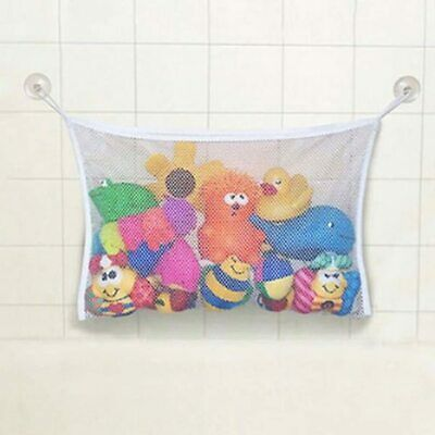 Baby Bath Toy Tidy Storage Net Suction Cup Bag Mesh Shower Bathroom Organiser UK • 2.69£