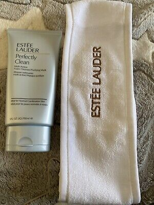 Estee Lauder Perfectly Clean Multi-Action Cleanser/Purifying Mask 150ml New • 20£