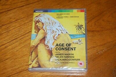 HELEN MIRREN In AGE OF CONSENT (1969) - INDICATOR'S SEALED LE REG. ABC BLU RAY • 5£