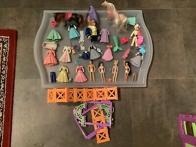 Collection Of Disney + Polly Pocket Clothing And Accessories (+ Some Extras)  • 9.99£
