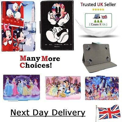 Mickey Minnie Mouse Disney Cartoon Kids Cover Samsung Galaxy Tab A ~ Tablet Case • 9.99£