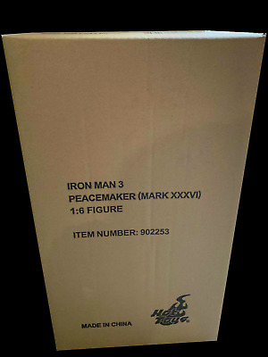 AU390 • Buy Hot Toys Iron Man 3 Peacemaker Mark XXXVI 36 1/6 Scale Brown Shipper