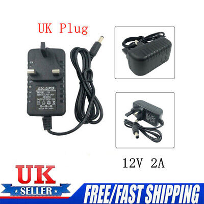 2A AC/DC12V UK Plug Power Supply Adapter Transformer Converter Charge Adapter • 4.54£