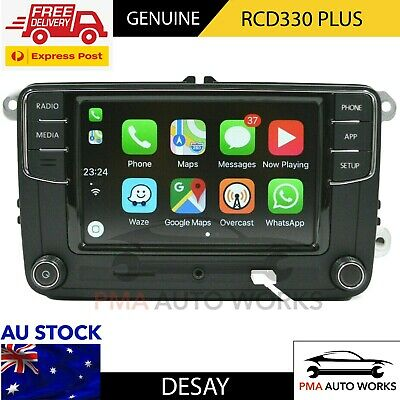 AU450 • Buy [FREE SHIPPING] GENUINE VW Desay RCD330 Plus 6.5  Mirrorlink CarPlay