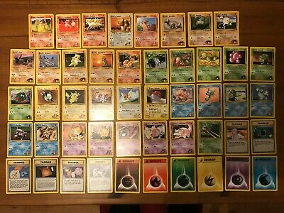 Pokemon Original Gym Hero Complete Set Common 48 Card Set Mint • 45.99£