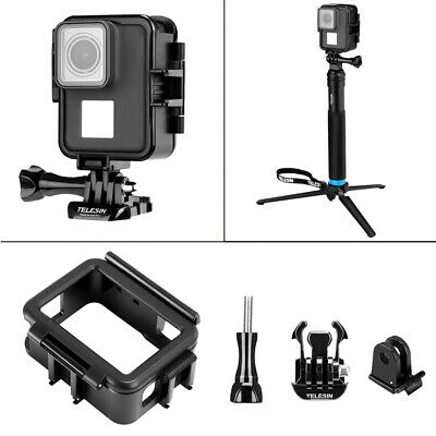 $ CDN16.39 • Buy For GoPro Hero 7 6 5 Camera Vertical Shell Plastic Frame Case Protective Cover