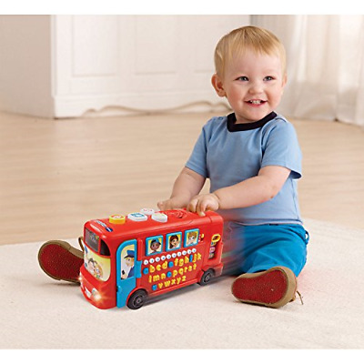 Vtech 150003 Playtime Bus Educational Playset, Learning Toy With Phonic Sounds, • 21.79£
