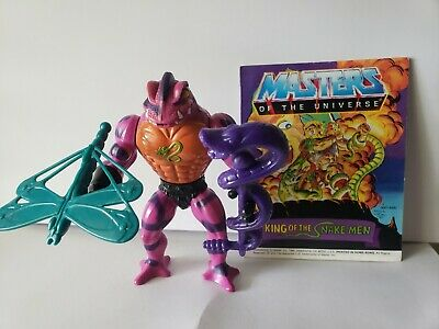 $26.50 • Buy Vintage 1985 Masters Of The Universe Tung Lashor Figure Mattel Complete W/comic