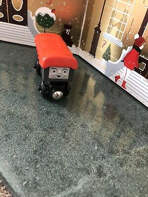 Thomas Tank Engine & Friends Wooden Train - GIGGLING TROUBLESOME TRUCK • 6.90£