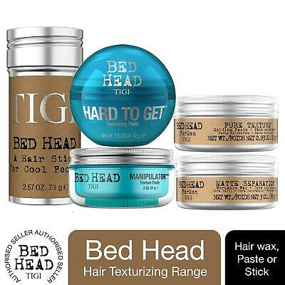 Bed Head By TIGI Range Of Short Hair Styling Products - Hair Wax, Paste Or Stick • 8.99£