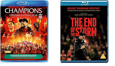 £47.02 • Buy Champions. Liverpool Season Review 19/20 + The End Of The Storm [3x Blu-ray] NEU