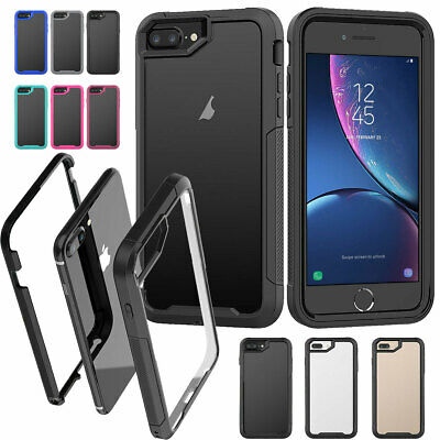 AU10.88 • Buy For IPhone 8 7 6s Plus X XR XS Max SE2 360 Shockproof Hard Full Phone Case Cover