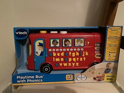 Vtech Playtime Bus With Phonics • 15£