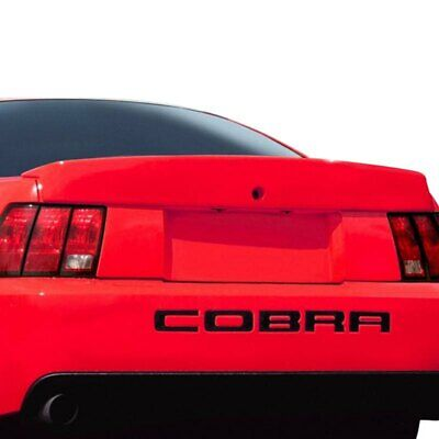 $111.35 • Buy For Ford Mustang 99-04 Cobra Style Fiberglass Rear Lip Spoiler Unpainted