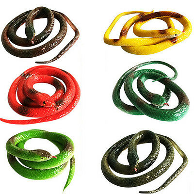 Special Simulation Snake Rubber Fake Funny April Fool Joke Gags Trick Toy JH  W7 • 3.63£
