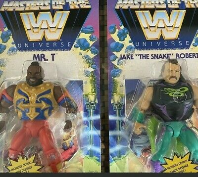 $58.99 • Buy WWE Masters Of The Universe Wave 4 Mr T And Jake The Snake -   In Hand