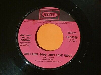 £15 • Buy Jimmy James And The Vagabonds Ain't Love Good Ain't Love Proud  Northern